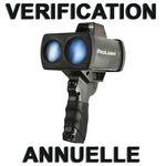 Vérification et Étalonnage annuel Prolaser 4